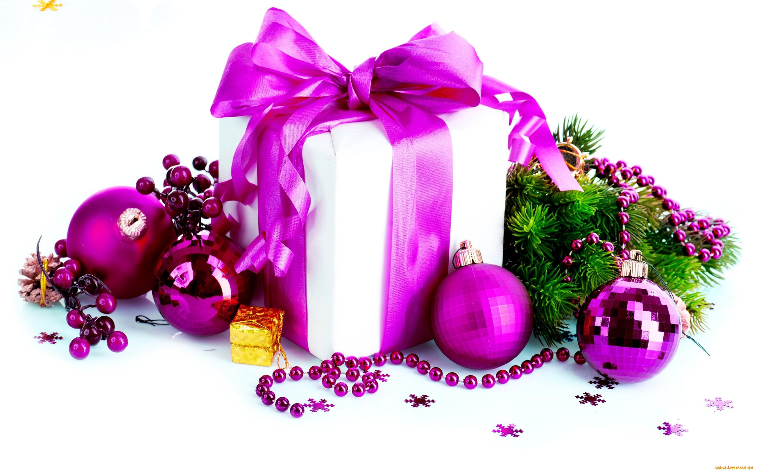 картинки новогодних шаров и подарков свежесть необыкновенных белоснежных